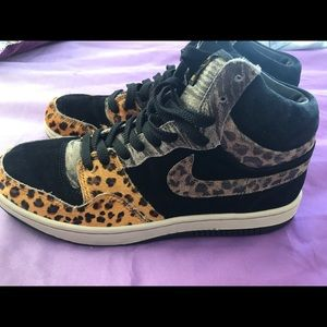 Nike Court Force Hi Premium Cheetah